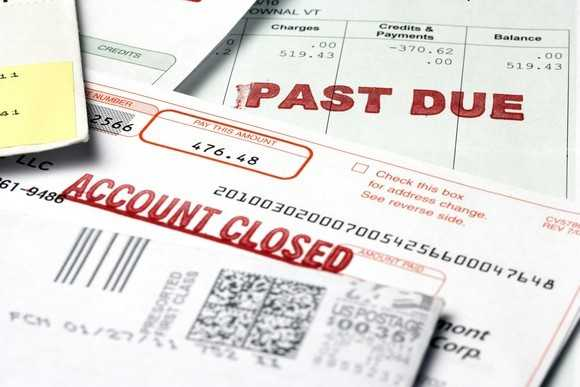 Debts do not disappear after bankruptcy